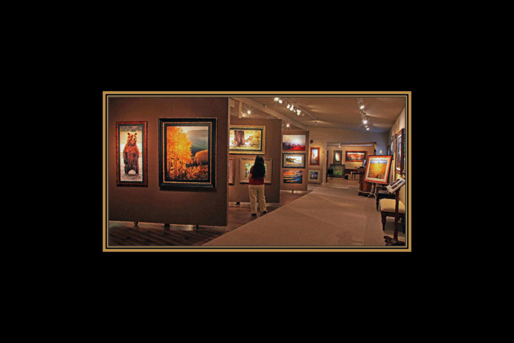 "Sedona art gallery: Greg Lawson's ""Passion for Place"" Gallery at 2679 W 89A Sedona"