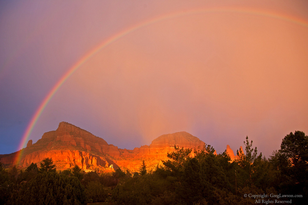 Chapel In The Bow, Sedona, Greg Lawson Images