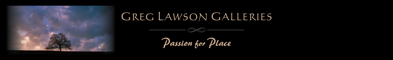 Greg Lawson Art Galleries, Sedona, Arizona Logo