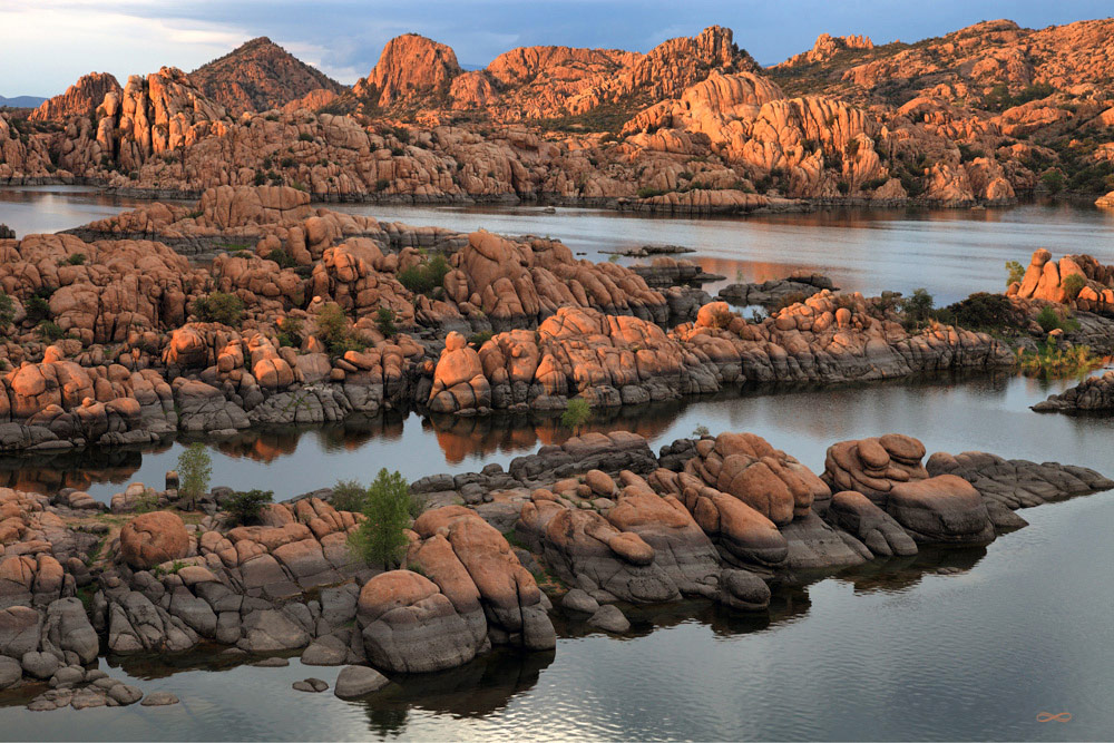 Watson Lake of the Granite Dells, Prescott, Greg Lawson Galleries, Sedona