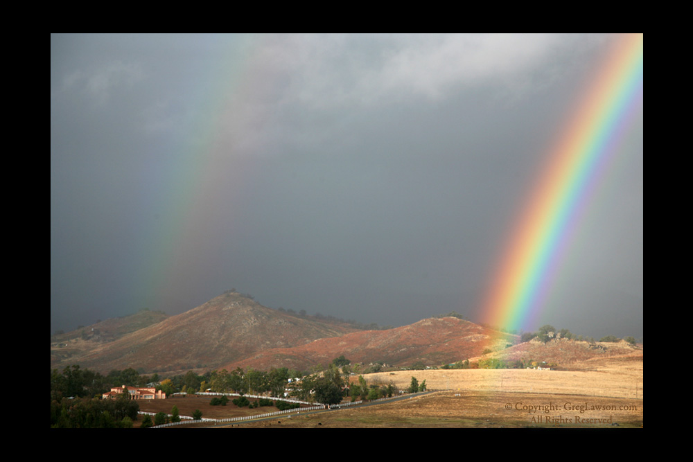 Rainbows end, Greg Lawson Photography Art Gallery