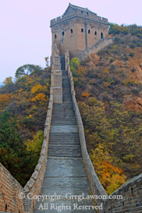 Greg Lawson Galleries - Great Wall, China