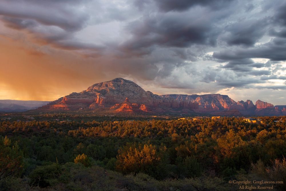 Thunder Mountain, Sedona, Greg Lawson Photography Art Gallery