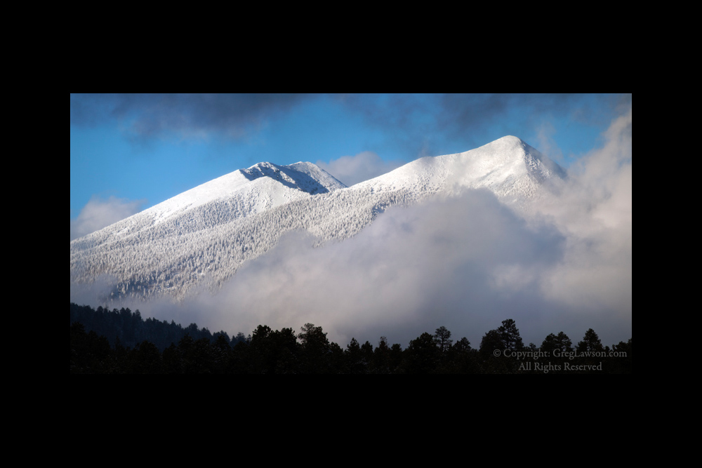 San Francisco Peaks, Flagstaff, Arizona, Greg Lawson Photography Galleries