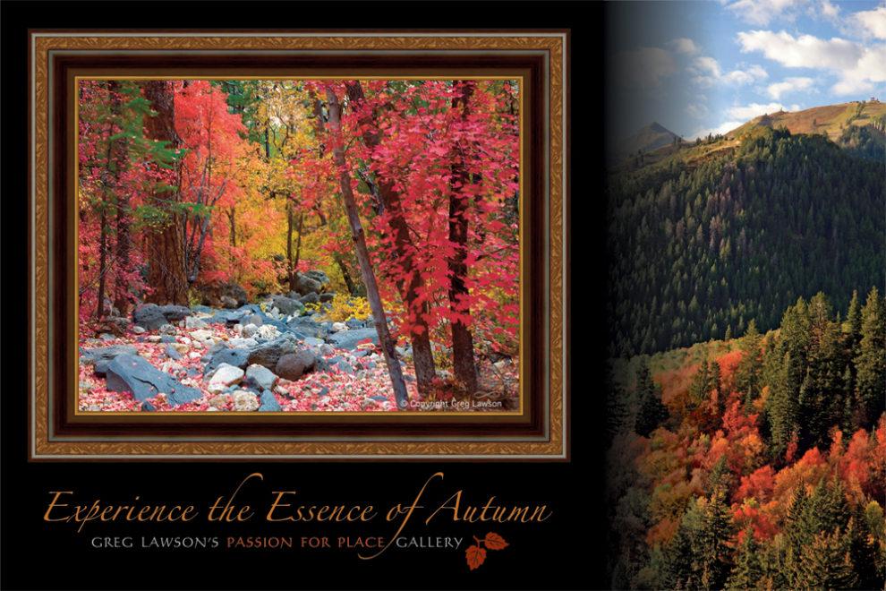 Autumn in Sedona, Greg Lawson Galleries Photography