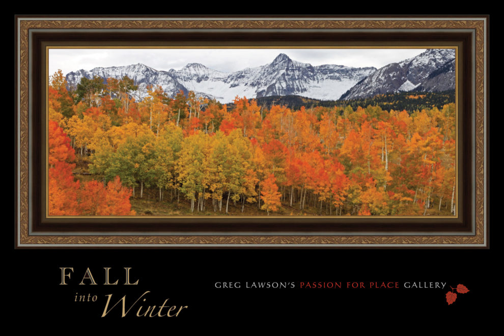 Fall Into Winter at Greg Lawson Galleries