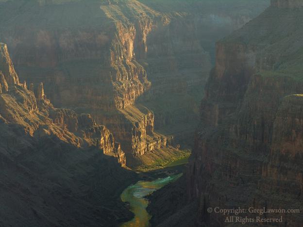 Grand Canyon, Copyright Greg Lawson