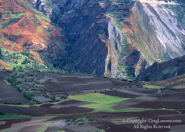 Valley of the Mantaro River, Peruvian Andes, Greg Lawson Photography Galleries