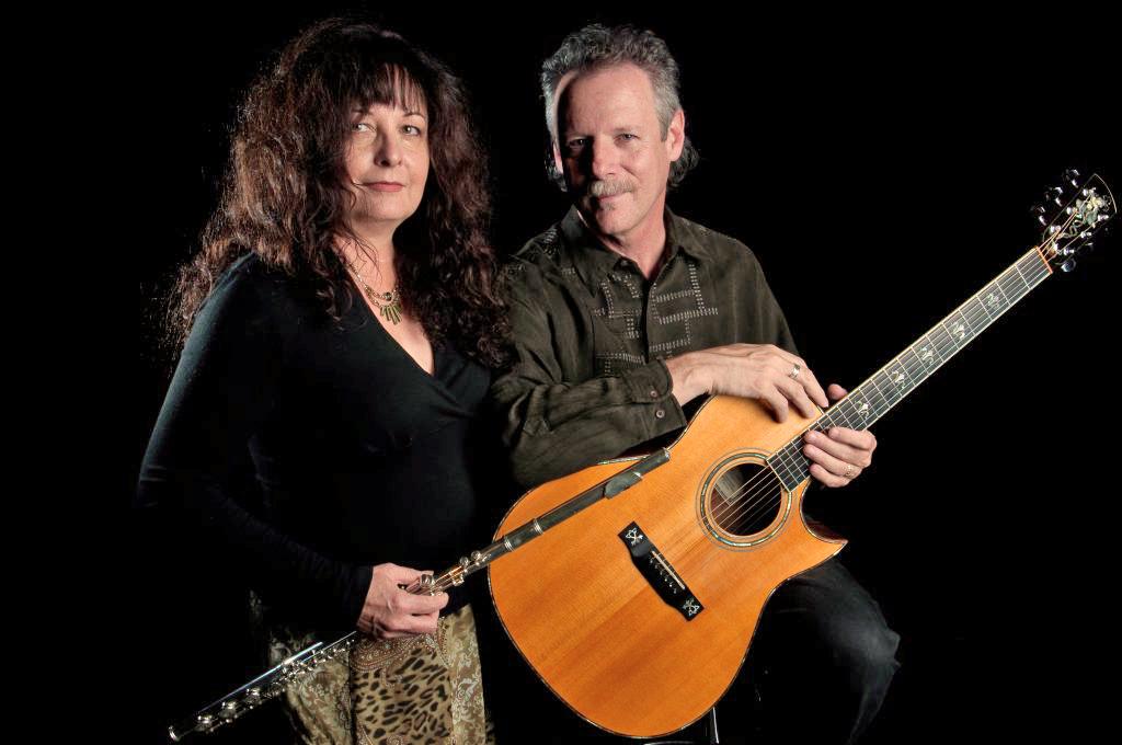 Meadowlark concert featuring Rick Cyge and Lynn Trombetta at Greg Lawson Galleries in Sedona