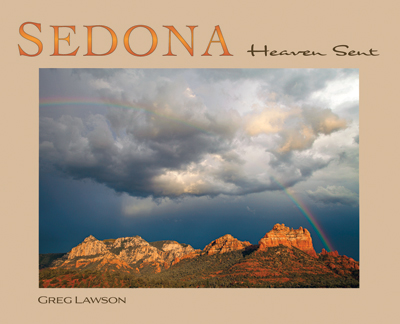 Sedona Heaven Sent - hardcover coffee table book by Greg Lawson