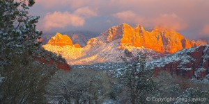 Sedona Snow and Glow